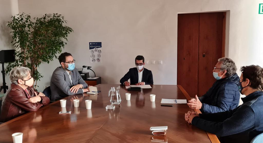 El Fòrum de la societat civil es reuneix amb el Conseller de Fons Europeus