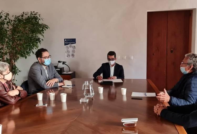 Reunió amb el conseller de Fons Europeus