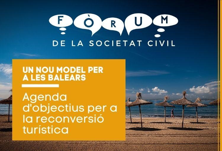 Presentació de les propostes del Fòrum de la societat civil per a la reconversió del model turístic
