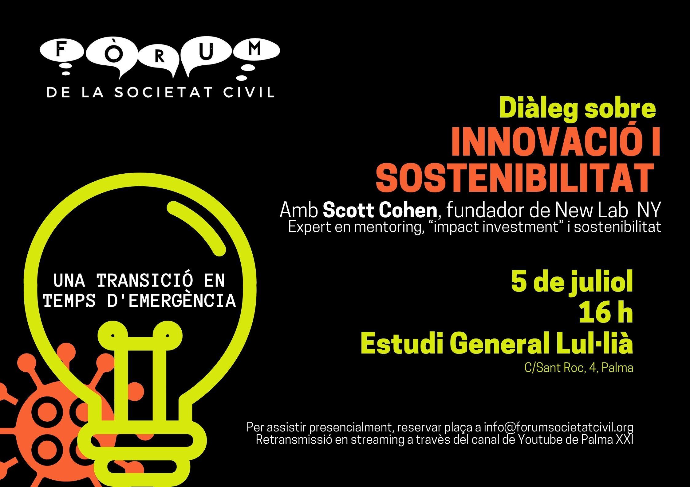 Diàleg sobre innovació i sostenibilitat