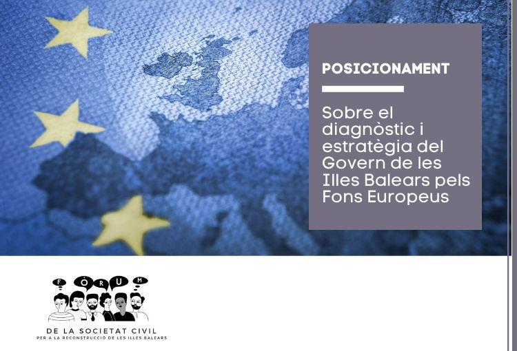 Posicionament del Fòrum de la Societat Civil sobre el Pla Estratègic Autonòmic – Estratègia d'Inversions Illes Balears 2030
